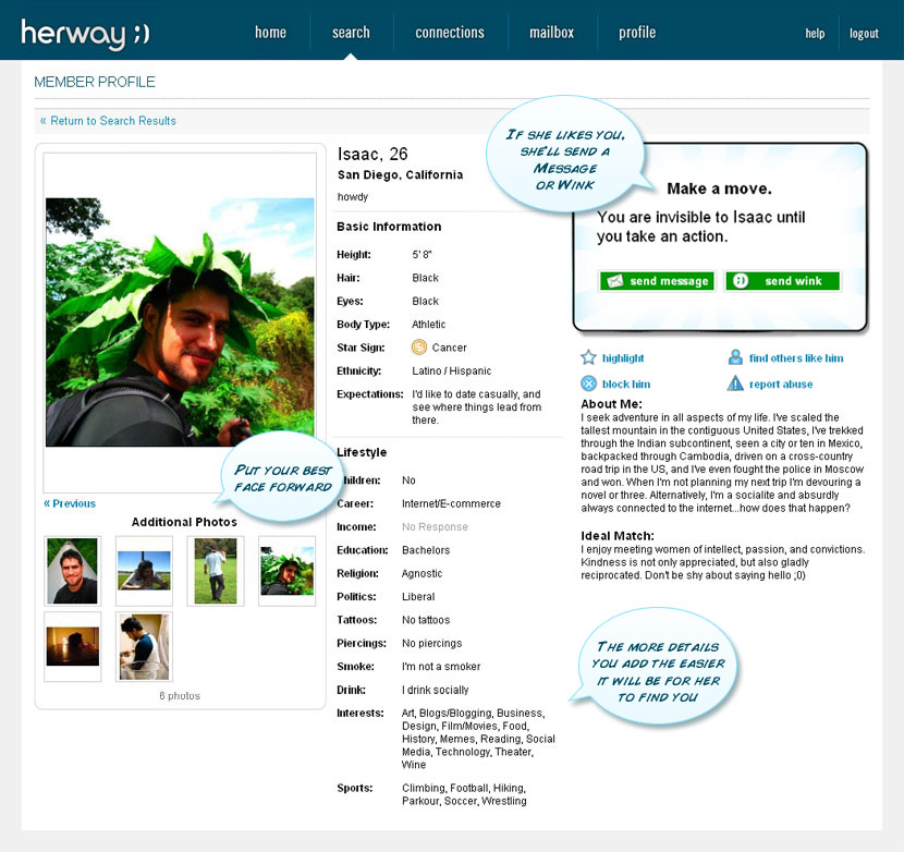Herway dating site